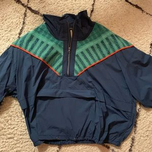 Retro Free People Windbreaker